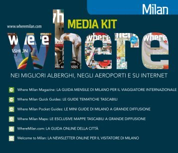 Media Kit - Where Milan