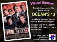 OCEAN'S 13 - Visual Hollywood