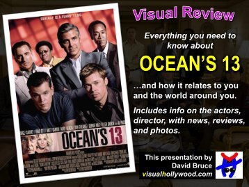 OCEAN'S 13 - Visual Hollywood