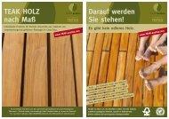 Image-Folder - Teak Austria