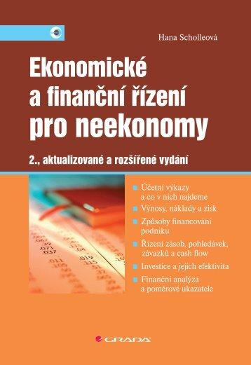 Ekonomické a finanční řízení pro neekonomy - eReading