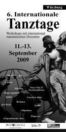 Würzburg 6. Internationale 11.-13. September 2009 ... - Salon 77