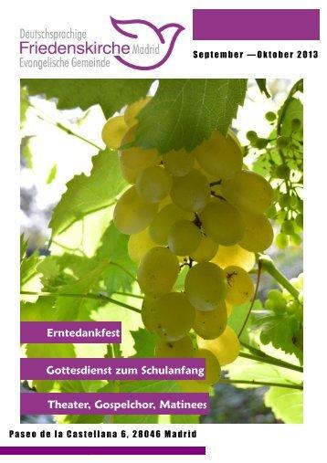 Aktueller Gemeindebrief (Sept & Okt) - in der deutschsprachigen ...