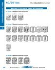 T-Slotted Aluminum Profiles - 80/20® Inc. - Page 2