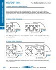 T-Slotted Aluminum Profiles - 80/20® Inc. - Page 4