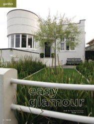 A smart easy-care garden for an Art Deco house - Resene