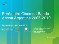 Barómetro Cisco de Banda Ancha - Marketwire