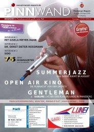GENTLEMAN - PINNWAND - Magazin