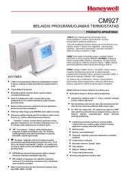 CM927 belaidis termostatas specifikacija.pdf - Aqua jazz