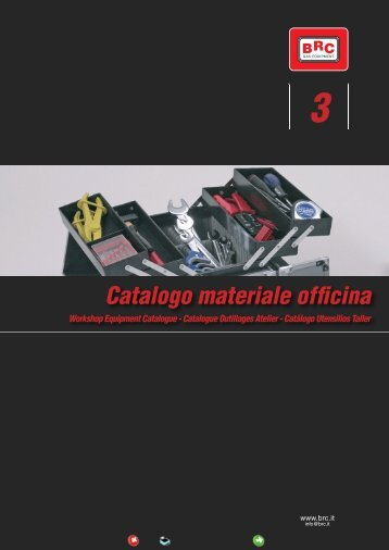 Catalogo materiale officina - Brc