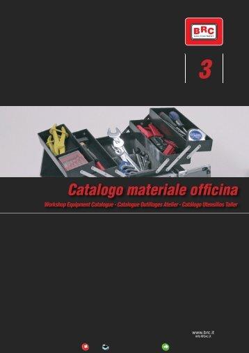 Catalogo materiale officina - Brc