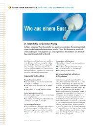 Adhesives Stift und Stumpfaufbausystem - werling-consulting.de