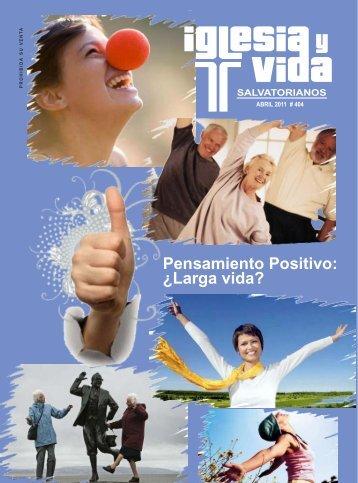 REVISTA ABRIL 2011 - salvatorianos