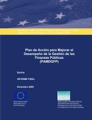 BOLIVIA-PAMDGFP-Dic 2009 - Viceministerio de Coca y Desarrollo ...