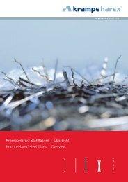 Stahlfasern - KrampeHarex® GmbH & Co. KG