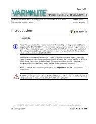 Introduction - Vari-Lite
