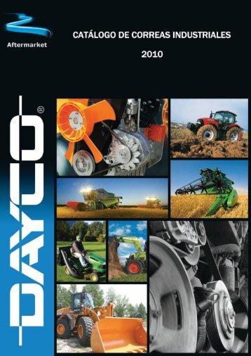 Catálogo de correas industriales 2010 - Dayco