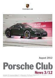 03 Porsche Community Management 60 Jahre Porsche Clubs ...