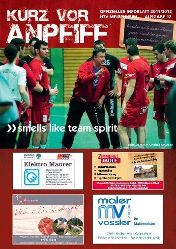Ausgabe 12 2011/2012 - HTV Meissenheim