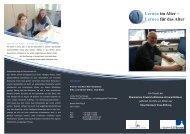 Lernen für das Alter - Institut für Psychologie - Universität Bonn