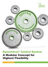 Dynamitron® Control System A Modular Concept for ... - IBA Industrial