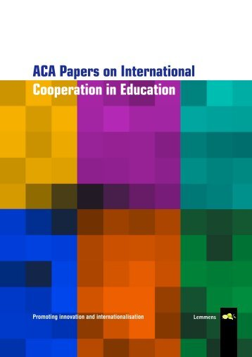 ACA Papers on International Cooperation in Education