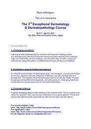 The 3 Exceptional Dermatology & Dermatopathology Course