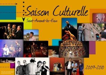 Saison Culturelle - Saint Amand les Eaux