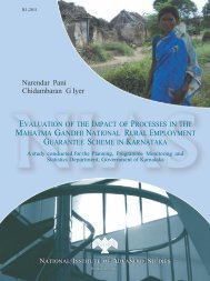 MGNREGS final report - Government of Karnataka