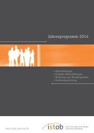 Das Programm 2014 als Download hier - Istob-Zentrum