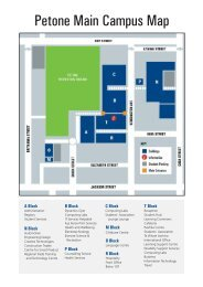 Petone Main Campus Map - Wellington Institute of Technology