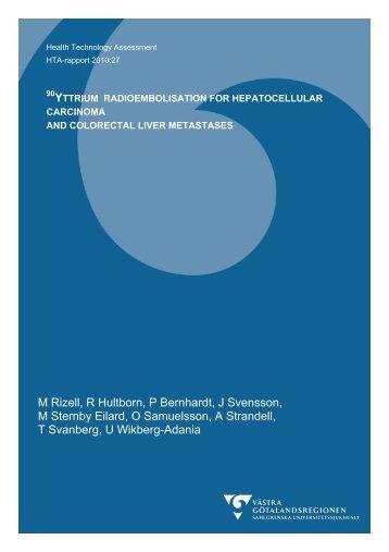 M Rizell, R Hultborn, P Bernhardt, J Svensson, M Sternby Eilard, O ...