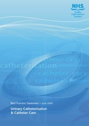 Urinary Catheterization - Long-Term Care Best Practices Toolkit