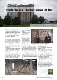 Rimforsa silo – torkar gärna åt fler - Hushållningssällskapet ...
