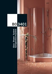Glass Shower System B0 3401 - Sinai