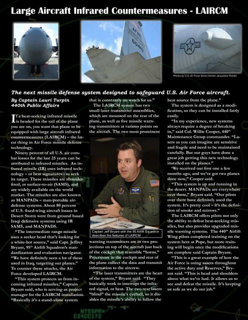 440 Airlift Wing, Pope AFB, Page 1 - 440th Airlift Wing