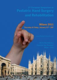 2nd European Symposium on Pediatric Hand Surgery and ...