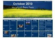 October 2010 - Warrumbungle National Park