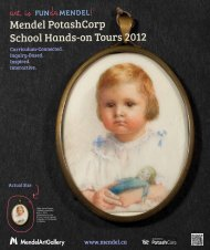 School Year At-A-Glance - Mendel Art Gallery