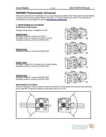 SRD960 Posicionador Universal - FOXBORO ECKARDT