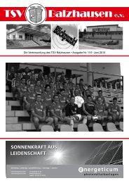 Allgäuer Mundart-Kabarett OPEN AIR - TSV Balzhausen