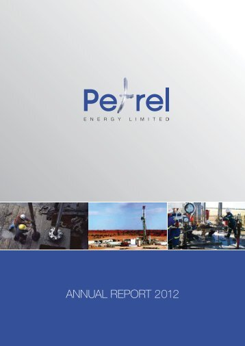 ANNUAL REPORT 2012 - Petrel Energy