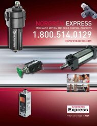 NORGREN EXPRESS - Industrial and Bearing Supplies