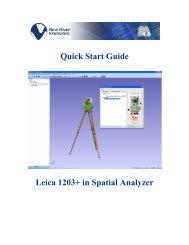 Quick Start Guide Leica 1203.pdf - New River Kinematics