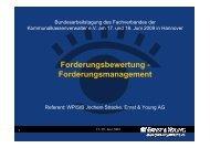 Forderungsbewertung - Forderungsmanagement - kassenverwalter.de