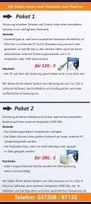 Flyer System- und Datensicherung - Sächsischer ... - Seite 2