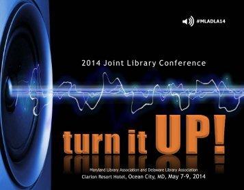 Conference Program - Maryland Library Association