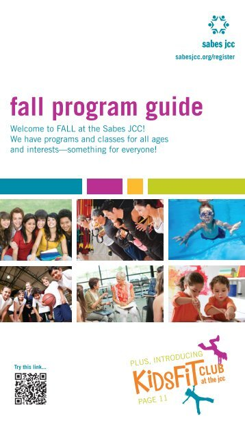 fall program guide - Sabes Jewish Community Center