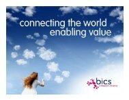 BICS Corporate Presentation Mar2013