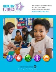 Download the Entire Participant's Manual - Healthy Child Care ...